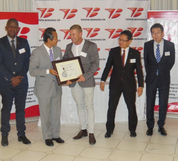 COBA Collects Cost Award from Toyota Boshoku South Africa