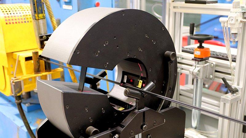 contactless laser measurement